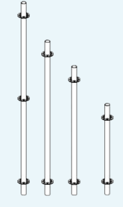 стойка стартовая системы СО-2,7 и СО-5,0